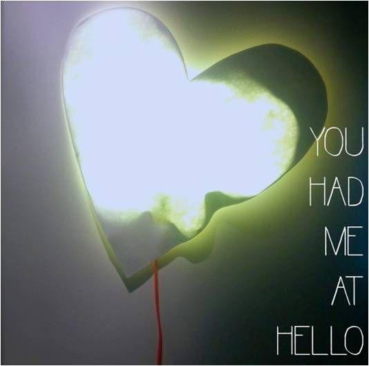 YOU… Had Me At Hello #Heart #paper #lamp #YouHadMeAtHello  أنت ..قول لي مرحباً أو القي عليّ السلام .. ( مقطع أغنية للمغنيJerry Maguire ) مصباح على شكل قلب مصنوع من الورق المقوى