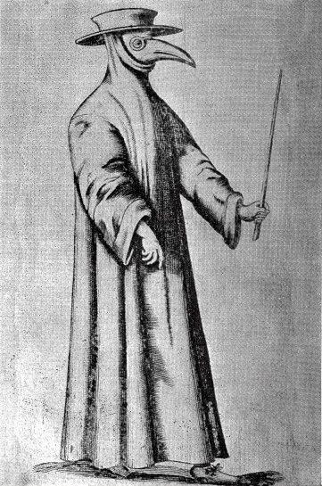 特異な衣装を身にまとい黒死病と戦った17世紀ヨーロッパの「ペスト医師」 - DNA