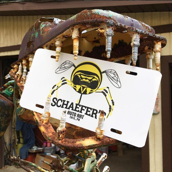 Schaefer's Auto Art License Plate- $10!