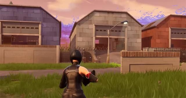 Fortnite dusty depot treasure map