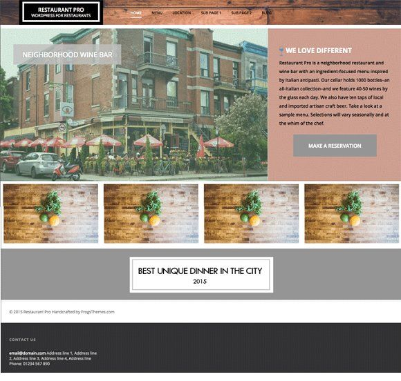 3537 best Themes images on Pinterest Website themes, Role models - neighborhood website templates