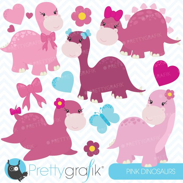 free girl dinosaur clipart - photo #33