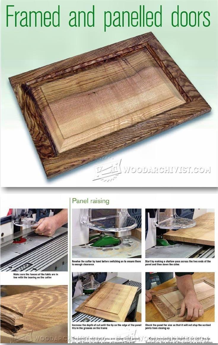 58 best Cabinet Door Construction images on Pinterest | Woodwork ...