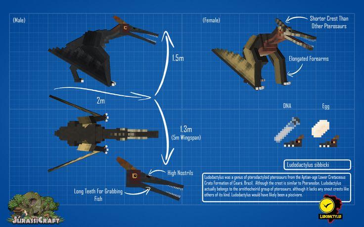 How to make dinosaur dna minecraft