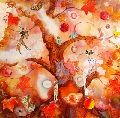"""""""Faerie Forest"""" - By Kerry Darlington"""