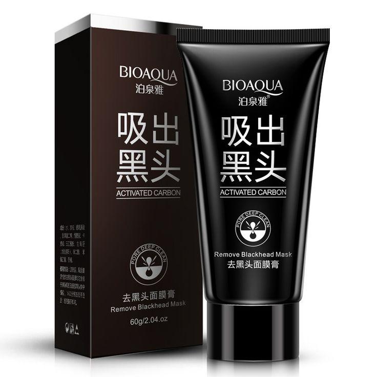 Gezichtsverzorging Zuig Zwart Masker Mee-eter Verwijderen Gezichtsmasker Peeling Afpellen Pore Strips Zwart Hoofd Masker Acne Behandeling Make 60g