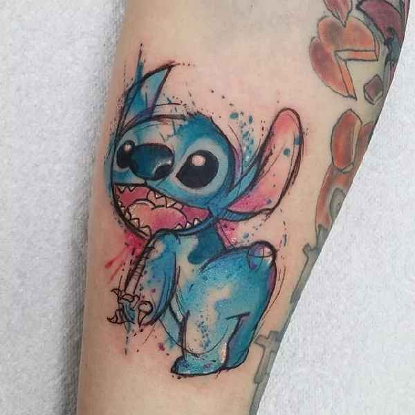 18 best stitch tattoos images on pinterest stitch tattoo disney tattoos and small tats. Black Bedroom Furniture Sets. Home Design Ideas