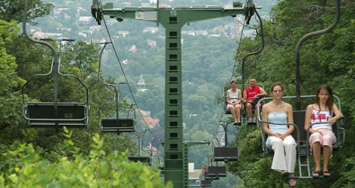 Libegö - stoeltjeslift in Boedapest
