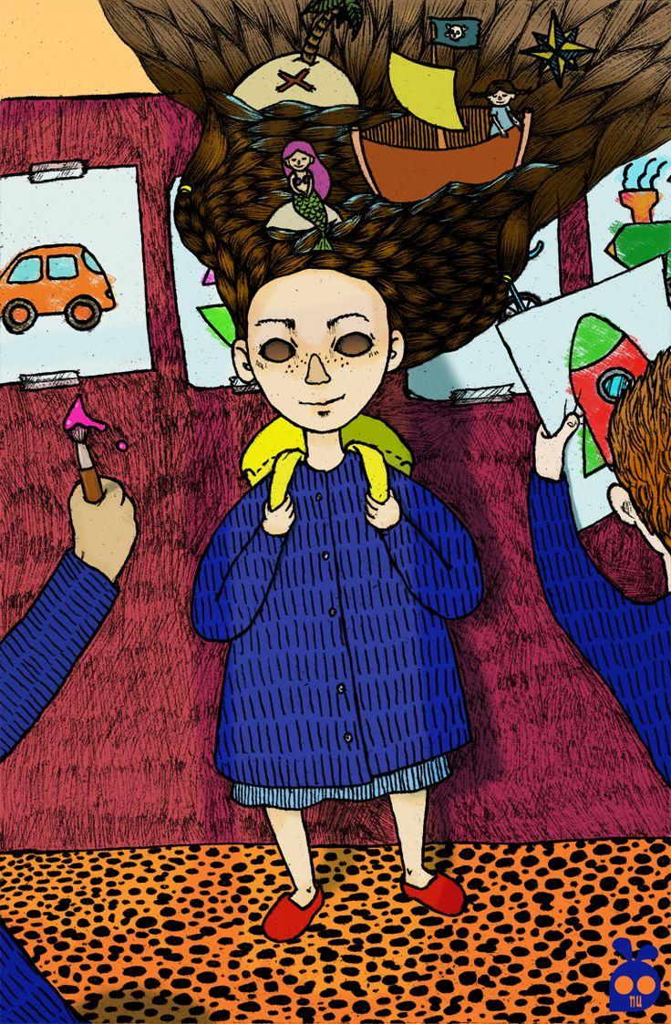 boniglio.wordpress.com #illustration #art #biro by nu boniglio