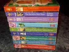 Love Inspired Steeple Hill Kathryn Springer lot of 9 christian romance  PB