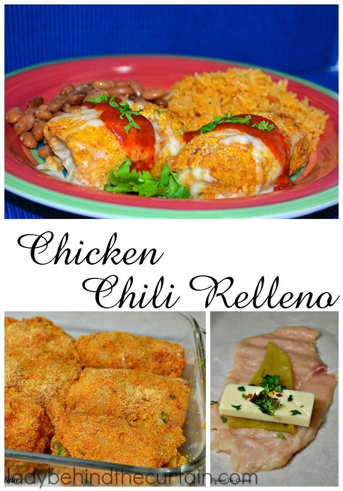 Chicken Chili Relleno: Creamy on the inside and crunchy on the outside with a little kick. With this lighter version of the popular chili relleno you get
