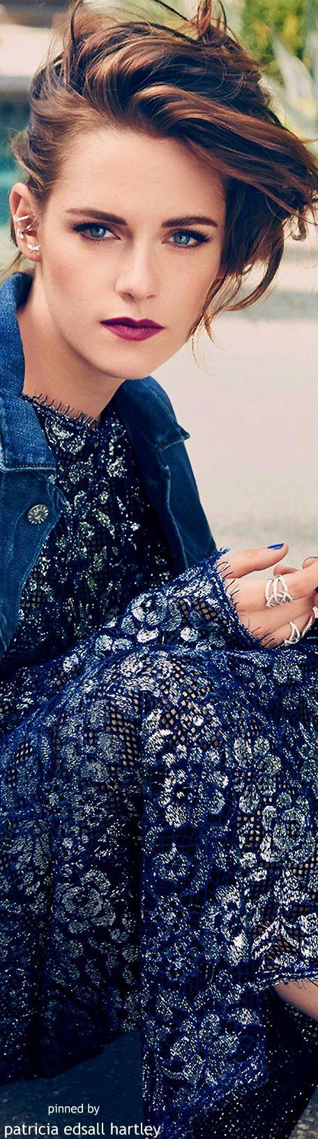 Bouche prune - Kristen Stewart -