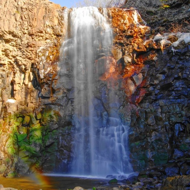 I'd like to visit Baxters Harbour waterfall, Nova Scotia