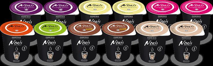7 leckere Sorten Noats Porridge