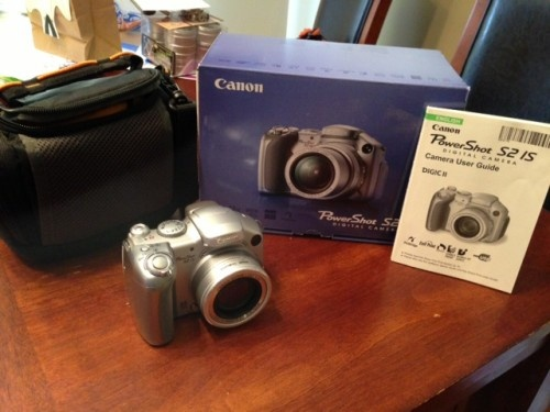 Canon PowerShot S2 IS 5.0 MP Digital camera - http://get.sm/uUThacO #tradebank Photographic Equipment