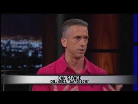 Dan Savage On Bill Maher Talks About Inseminating His Husband Makes GOP Guests Uncomfortable