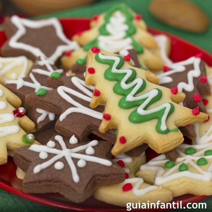 Galletas navideñas para niños con margarina. En Guiainfantil.com te enseñamos, paso a paso, a hacer exquisitas galletas de Navidad para los niños con margarina.