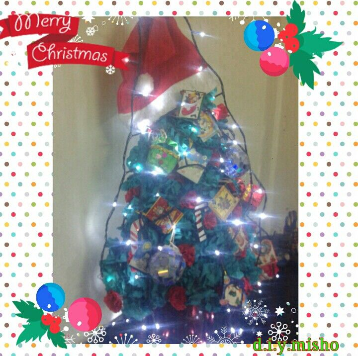 My amazing tabletop Christmas tree