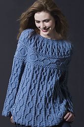 Ravelry: Cabled Tunic pattern by Cornelia Tuttle Hamilton