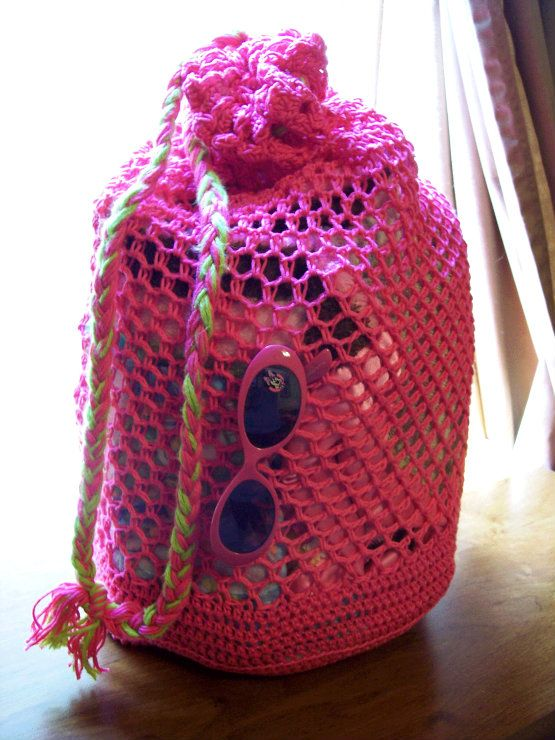 Beach Bag Crochet : Beach-BAG-Free-Pattern Crochet Market,Shopping,Beach Bags Pintere ...