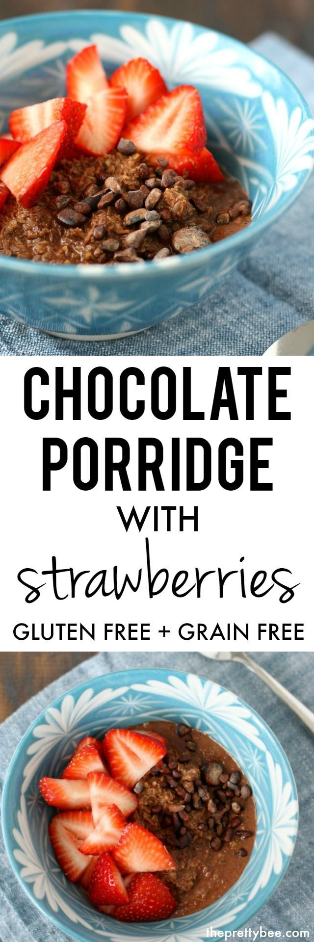 This gluten and grain free porridge is a delicious and healthy start to your day!