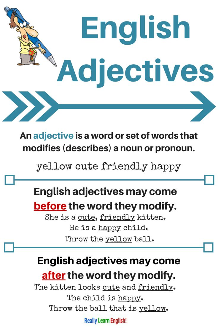 adjectives lesson plans