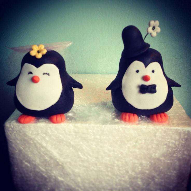 Pinguïn topper