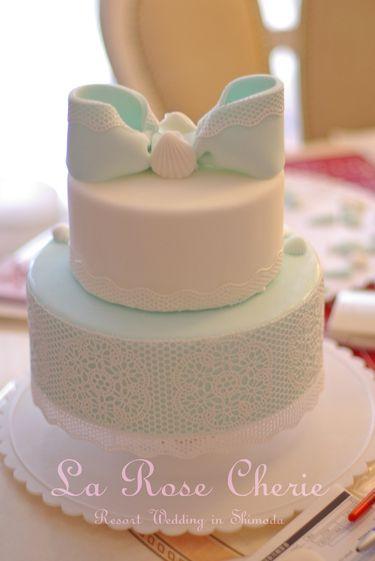 デコレーション教室 La Rose Cherie(ラ・ローズ・シェリー) -シュガーレースのケーキ