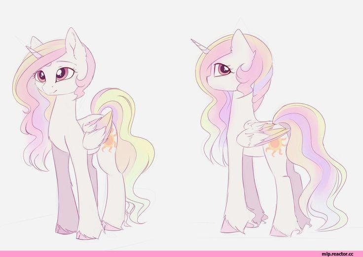 my little pony,Мой маленький пони,фэндомы,mlp art,royal,Princess Celestia,Принцесса Селестия