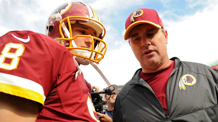 Jay Gruden sends message loud and clear on Kirk Cousins