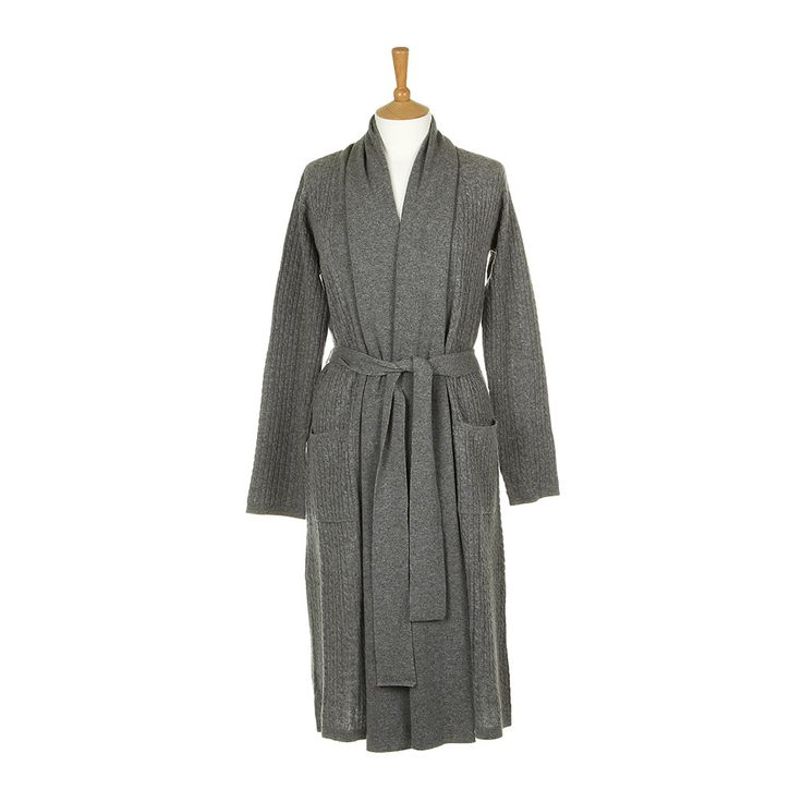 Cable Grey Robe
