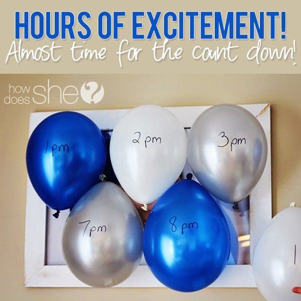 Hours of excitement! Almost time for the count down. – New ...