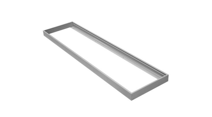 LED Panel felfogató beépítő keret fehér 120x30cm NVC,Kiegészítők,7.200 Ft