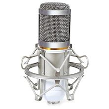 Hot sale! Hot sale 2016 Wired Wide Frequency Response Studio Condenser Sound Recording Microphone with Metal Shock Mount Kit for     US $27.33 Buy one here---> https://shoptabletpcs.com/products/hot-sale-hot-sale-2016-wired-wide-frequency-response-studio-condenser-sound-recording-microphone-with-metal-shock-mount-kit-for/ + Up to 18% Cashback