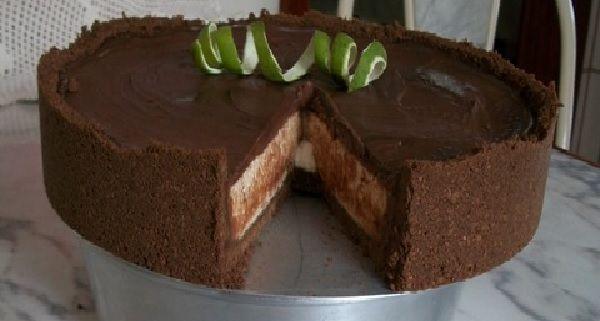A Torta de Limão com Chocolate é deliciosa, fácil de fazer e será um sucesso…