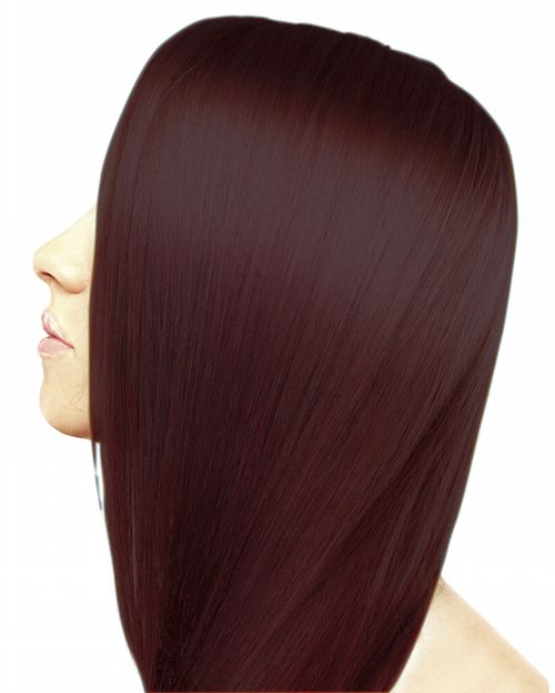 Ion Ammonia Free Hair Color 5RR Light Intense Red Brown - ION At Home