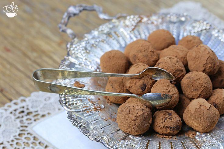 Шоколадные трюфели - Janette's Cafe