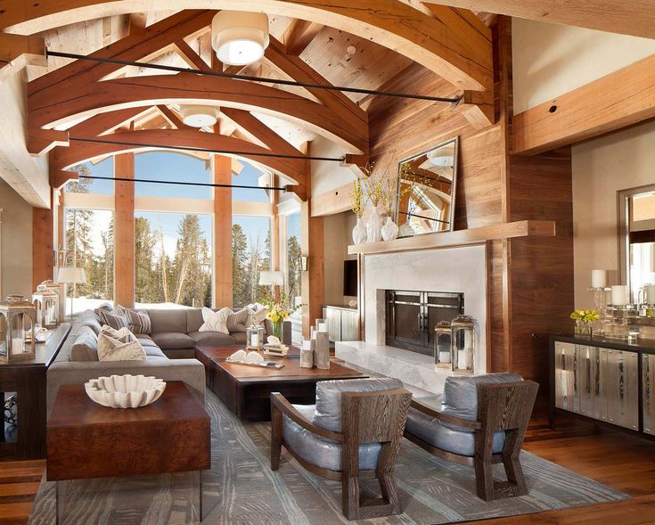 Fabulous mountain house with modern touches in Big Sky, Montana