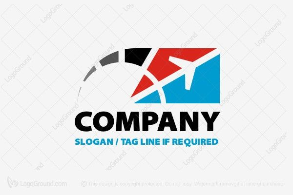 Logo for sale: Airplane Logo