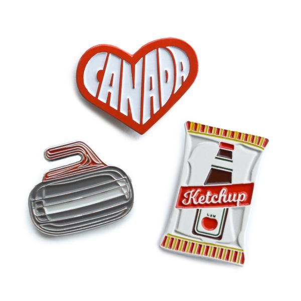Ketchup chips pin