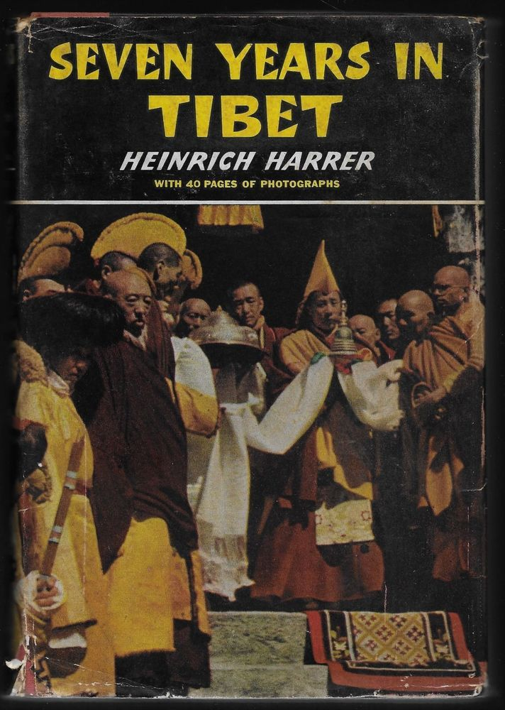 Seven Years in Tibet HC Heinrich Harrer 1953 Book-Of-The-Month Club 1st Edition