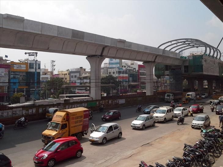 The Hyderabad Metro Rail is 46 miles long and it will bring communication-based train control to India. It is scheduled to be completed in 2017.