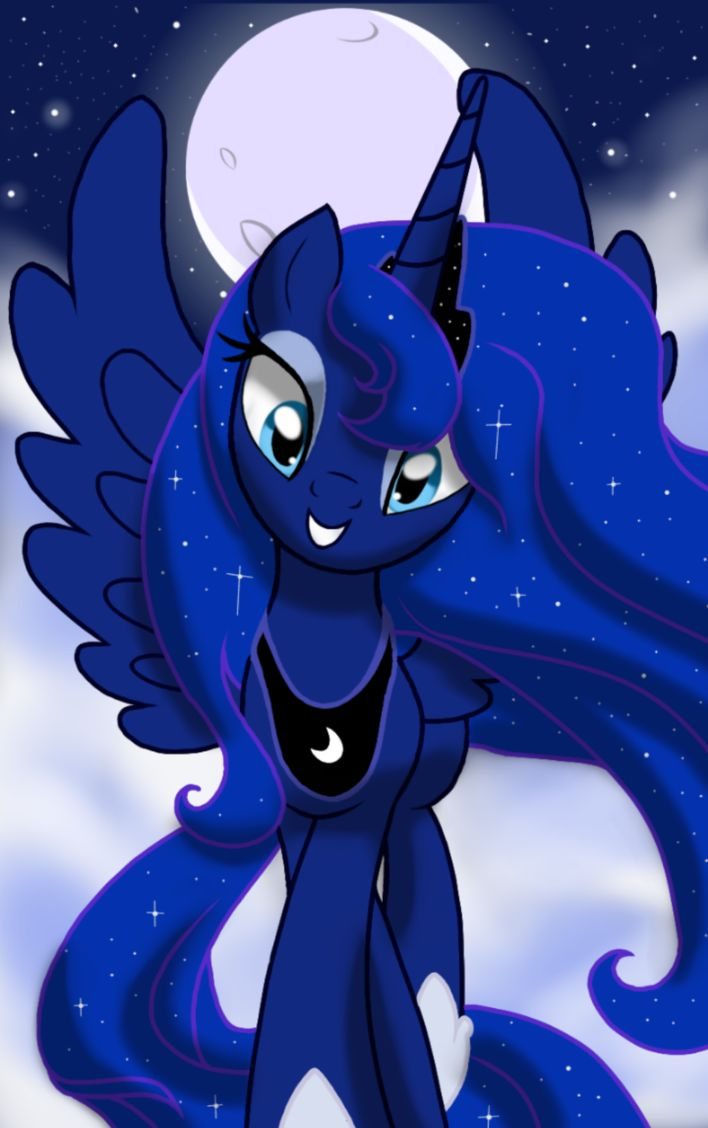 Best 25 princess luna ideas on pinterest mlp my pretty - Princesse poney ...