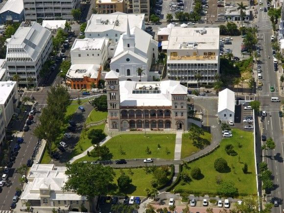Centro di Hamilton Bermuda