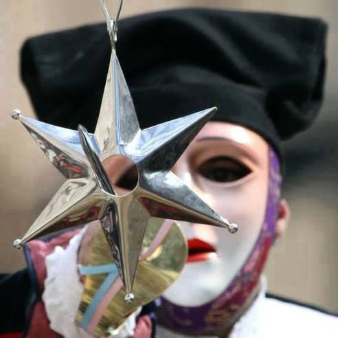 """An incredible image of """" Sa Sartiglia"""" 2015 held in the town of Oristano from the last 500 years! Here the leader of fearless horsemen known as  """"Su Componidori"""" successfully speared the star"""