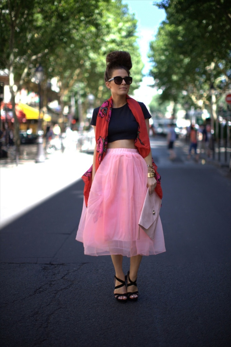 I need a tulle skirt pronto