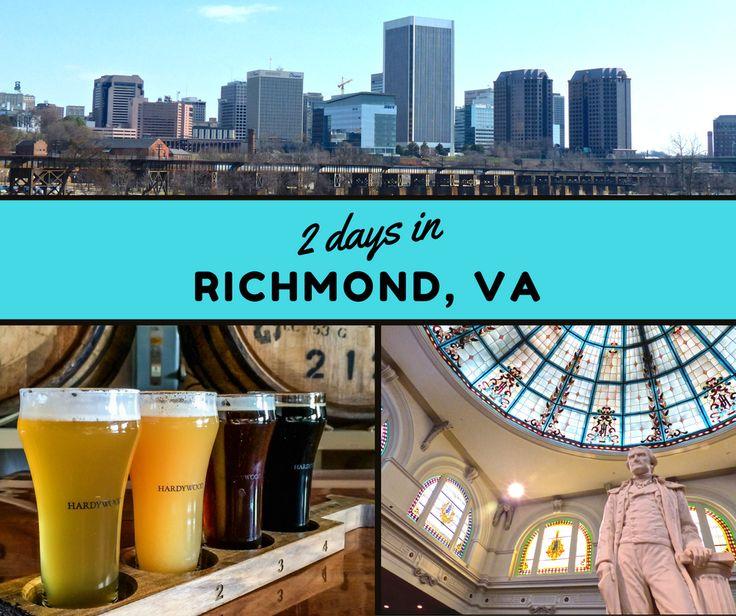 Itinerary 2 Days In Richmond Virginia