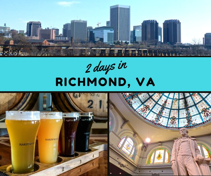 From craft breweries, art galleries and hotels, to the hottest restaurants and shopping... here's how to make the most out of 2 days in Richmond, Virginia.