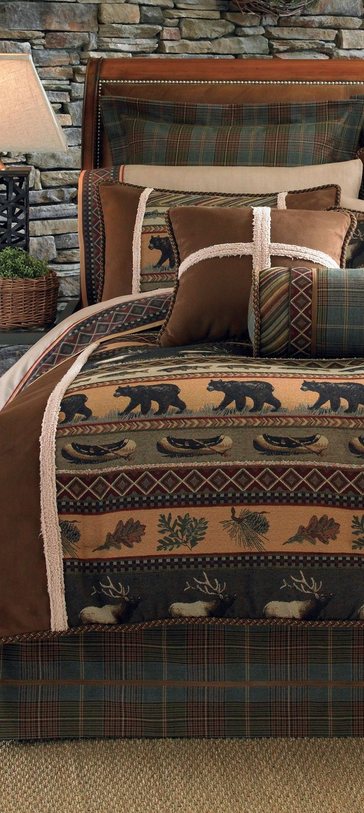 Best 25+ Log cabin furniture ideas on Pinterest | Rustic rugs, Log ...