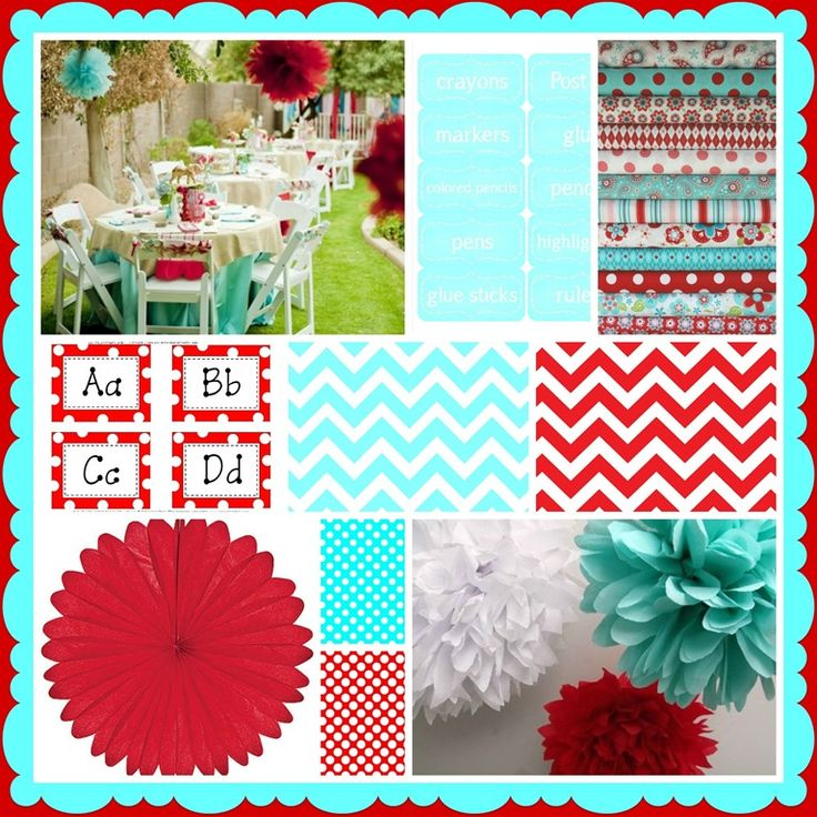 red-and-aqua-inspiration-board-by-Schoolgirl-Style.jpg 768×768 pixels